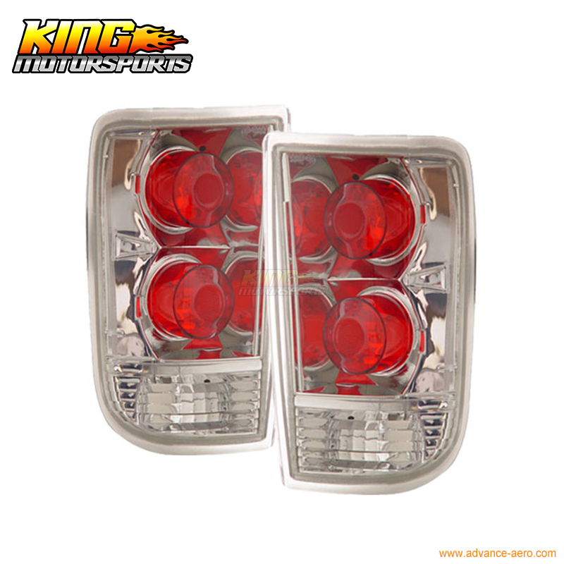 for 2005 2007 06 chrysler 300 300c led tail lights black lamps usa domestic free shipping For 1995-2000 Chevy Blazer Tail Lights Chrome Lamps Lamps USA Domestic Free Shipping