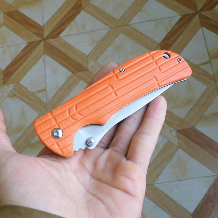 58-60HRC Ganzo G723 440C лезвие G10 ручка для повседневного использования, складной нож для выживания, инструмент для кемпинга, карманный нож для охоты Тактический уличный инструмент EDC