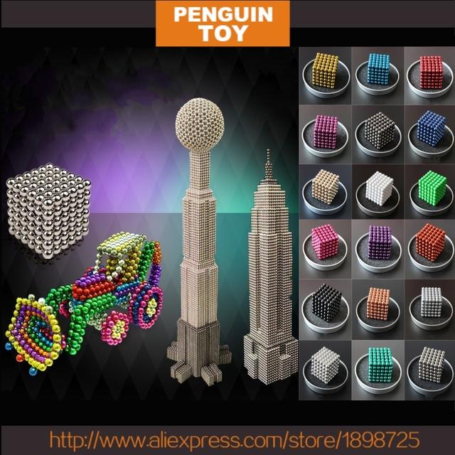 5mm * 216 unids metaballs bolas magnéticas imán neo cubo mágico juguetes nuevo imán bloque cubo mágico juguetes diy juguetes de regalo de navidad