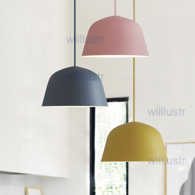 willlustr pendant light suspension l& modern lighting art deco natural hanging lights metal pink blue macarons & willlustr pendant light suspension lamp modern lighting art deco ...