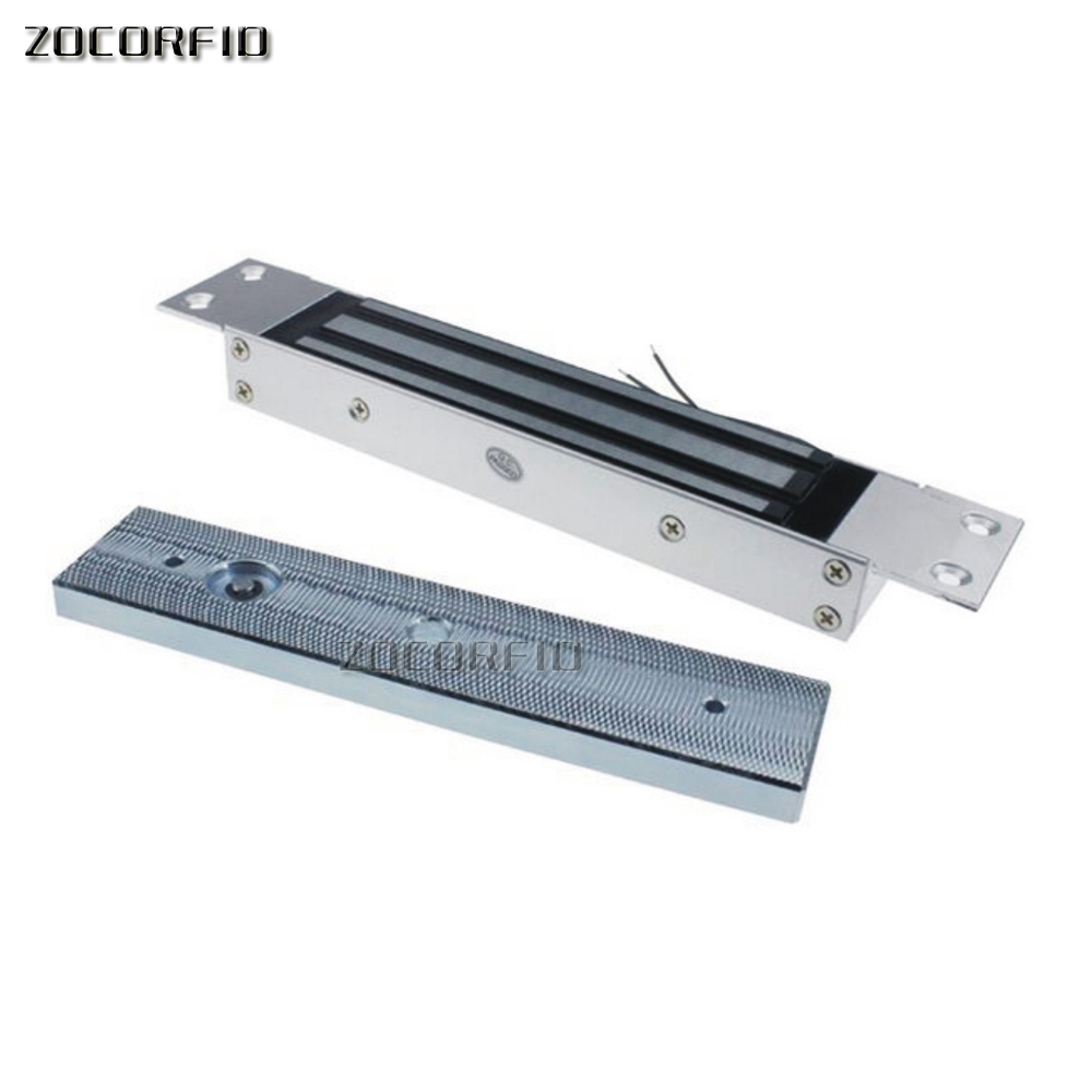 280KG 600LB Single Door 12V Electric Lock For Door Magnetic Electromagnetic Lock Holding Force For Access Control System