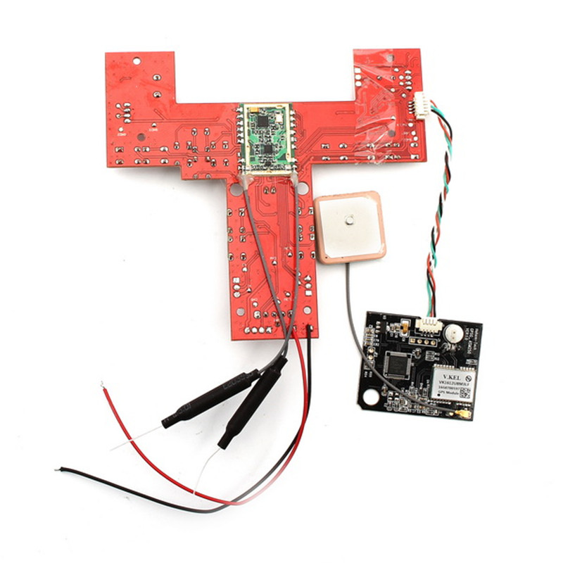 Original AOSENMA CG035 RC FPV Quadcopter Spare Parts Receiver Board With GPS For RC Drones Toys Accessories Accs Parts original aosenma cg035 receiver board gps for rc quadcopter models multirotor spare part transmitter goggles camera