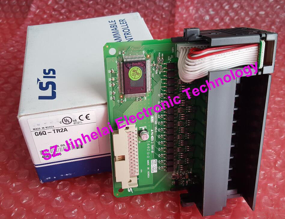 G6Q-TR2A Authentic original LS(LG) PLC CONTROLLER Output module 100% new and original g6i d22a ls lg plc input module