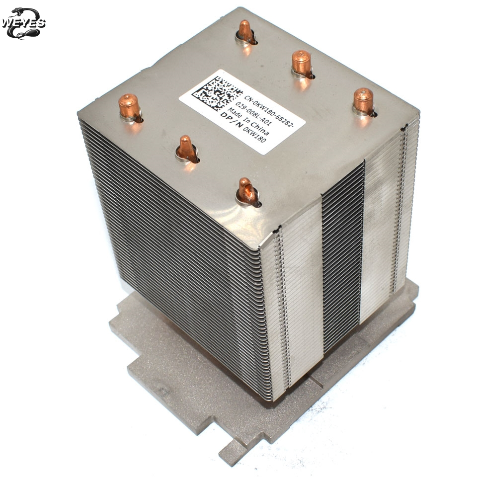 US $26 31 8% OFF|0KW180 KW180 for PowerEdge T610, T710 Server CPU /  Processor Cooling Heatsink-in Fans & Cooling from Computer & Office on
