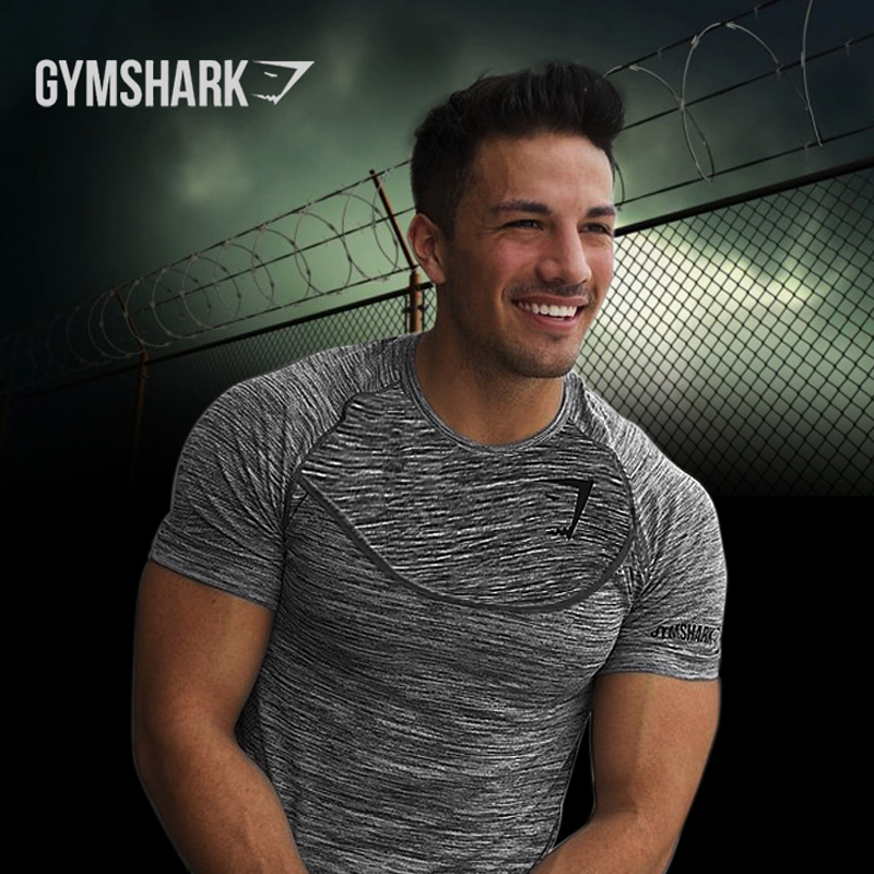 2016 Новое Прибытие Shark Стрингер майка Мужчины Бодибилдинг и Фитнес мужская Singlets Танк Рубашки Футболки