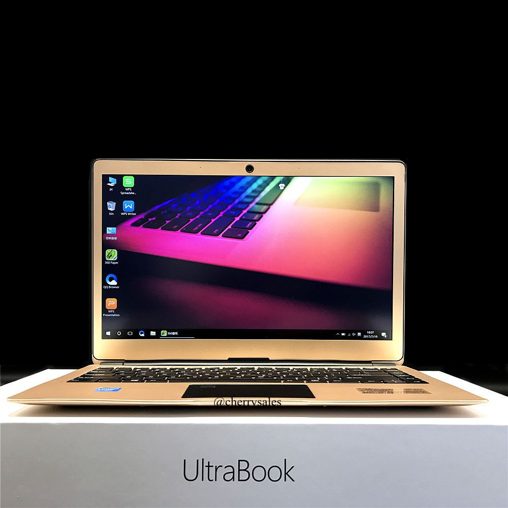 13.3inch 1920x1080P IPS Fingerprint Metal laptop Intel N3450 Quad Core 6GB RAM+32GB eMMC+128GB SSD windows 10 system Ultrabook 13 3inch intel apollo lake n3450 quad core 6gb ram 32gb emmc 128gb ssd 1920x1080p ips screen ultrathin metal ultrabook laptop
