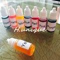 10mlX7 DIY Ручной Мыло Краситель Инструментарий Материалов 7 Ccolors Мыло Ручной Работы Базы Цвет Специальные Пигменты