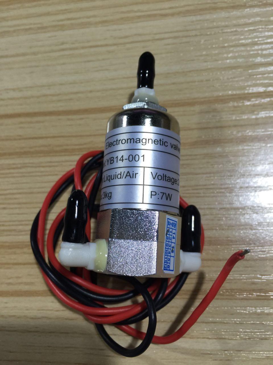 MICRO Electromagnetic 3 WAY SOLENOID VALVE 24 V DC for Infiniti Allwin Myjet Zhongye Gongzhen Wit-color JHF Crystal-jet printer