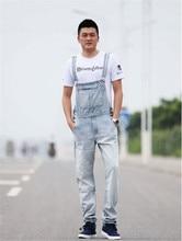 New Arrival&Top Quality Men's Fashion Skinny Denim Jeans Jumpsuit Man's Casual Overalls Size:S M L XL 2XL 3XL 4XL 5XL