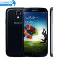 Abierto original samsung galaxy s4 i9500 i9505 quad core celular teléfonos WCDMA LTE 5.0 ''2 GB RAM 16 GB ROM Móvil teléfono