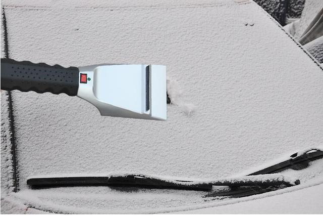 12V Winter Car Accessory Heated Ice Scraper Remove Windshield Snow Defrost Shoveling Cigarette Lighter glass scraper scrape wind