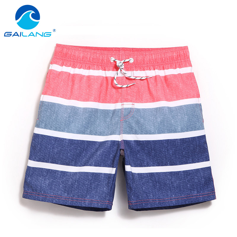 Gailang Brand Men Beach   Shorts   Bermuda Quick Drying Men's Swimwear Swimsuits   Board     Shorts   Bottoms Casual Jogger Boxer Trunks New