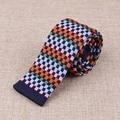 Moda Casual de Negocios Corbatas Corbata Para Hombre Clásico de la Tela Escocesa Para Hombre de Punto Marca Flaco Corbata Corbatas Para La Boda