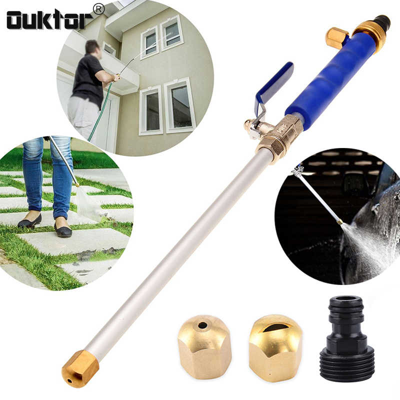 Auto Hogedrukreiniger Waterpistool Power Washer Jet Tuin Water Slang Wand Nozzle Spuit Water Spray Sprinkler Schoonmaken Tool