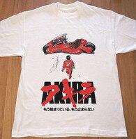 Akira culto 1988 japonés Animated Sci Fi película T Shirt Mens tokio Cyberpunk Camisetas Tees camisa más el tamaño S-3XL