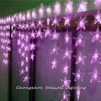 2020 decorações de natal artificiais da árvore de natal novo! led lâmpada do feriado porta cortina vitrine decoração 0.7*4m lâmpada led h281