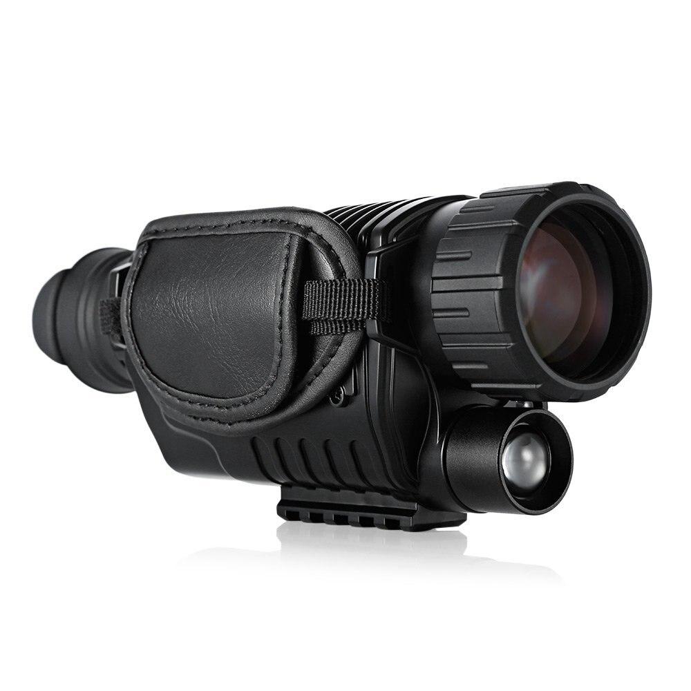 5MP винтовка область ночного видения Оптика Охотник область ночного видения Охота Монокуляр Бесплатная доставка
