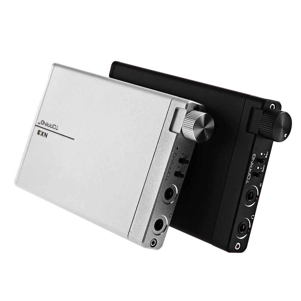 Stereo Audio Speaker Amplifier Original TOPPING NX3 Portable HiFi USB DAC TPA6120A2 16-300ohms Full Metal Shell Channels 2 (2.0) u2012 class a 6n11 tube headphone amplifier usb dac hifi preamp stereo mini audio amplifier 2017 new