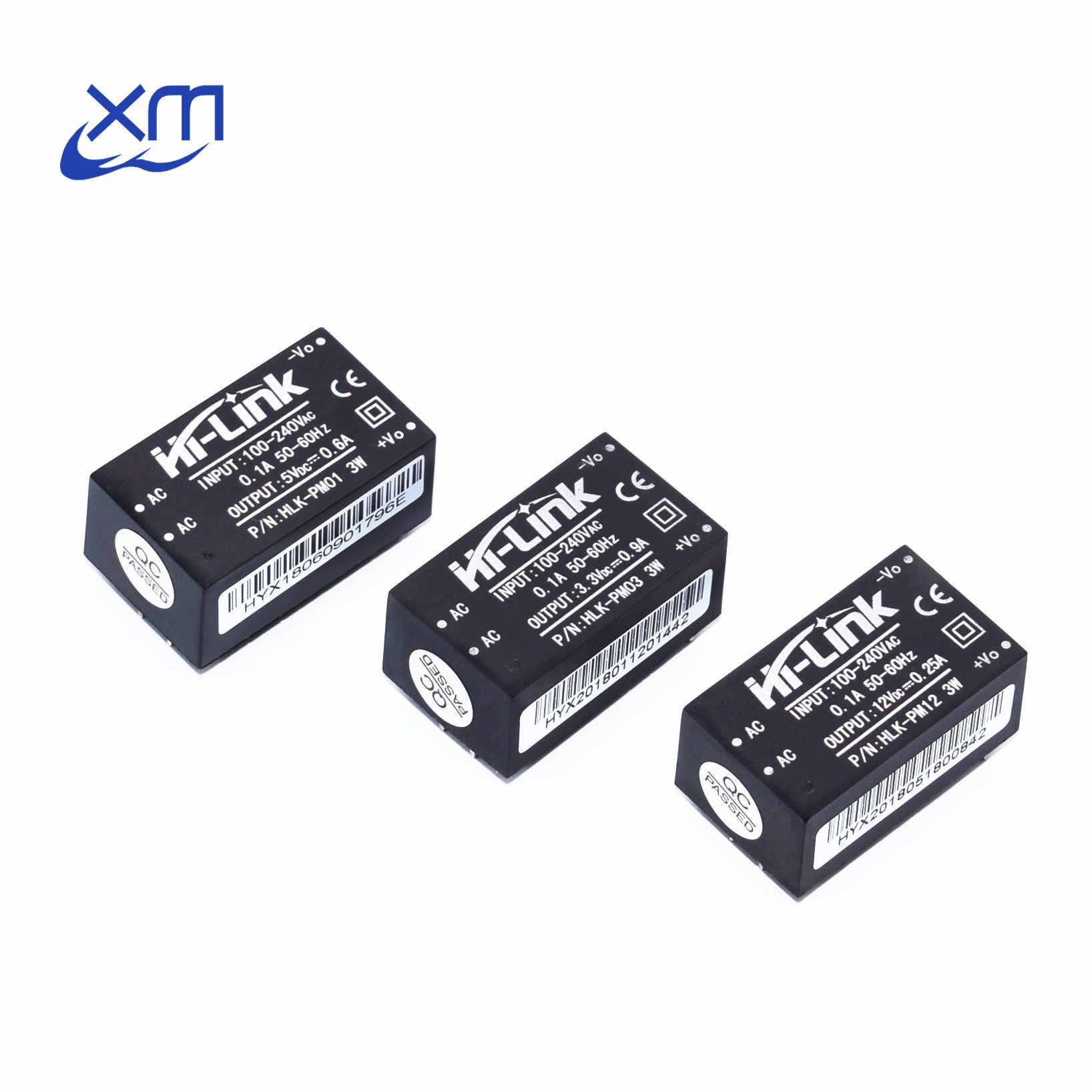 HLK-PM01 HLK-PM03 HLK-PM12 AC-DC 220V إلى 5 V/3.3 V/12 V مصغرة امدادات الطاقة وحدة ، ذكي المنزلية التبديل الطاقة وحدة UL/CE