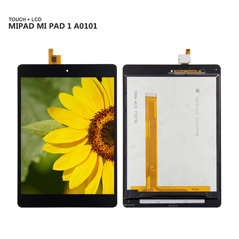 For Xiaomi Mipad Mi Pad 1 A0101 Display Panel LCD Combo Touch Screen Glass Sensor Replacement Parts new 7 9 inch case for xiaomi mipad mi pad a0101 lcd display touch screen digitizer miui tablet pc free shipping