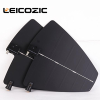 Leicozic 2X Active Directional Antenna & Splitter Amp system kit UHF Antenna Integrated Amplifier for UHF Microphone wireless