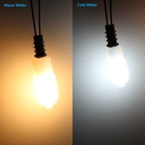 Image 5 - 10 шт. мини G4 G9 3 Вт 5 Вт 7 Вт SMD2835 Светодиодная лампа AC & DC 12 В AC 220 В светодиодная нить пластиковая стеклянная лампа для дома и спальни