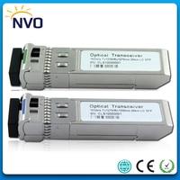 Free Shipping 5Pair/lot,10GBASE LR Optical Module 10G 1270nm/1330nm 20km DDM WDM BiDi SFP+ LC Fiber Optical Transceiver