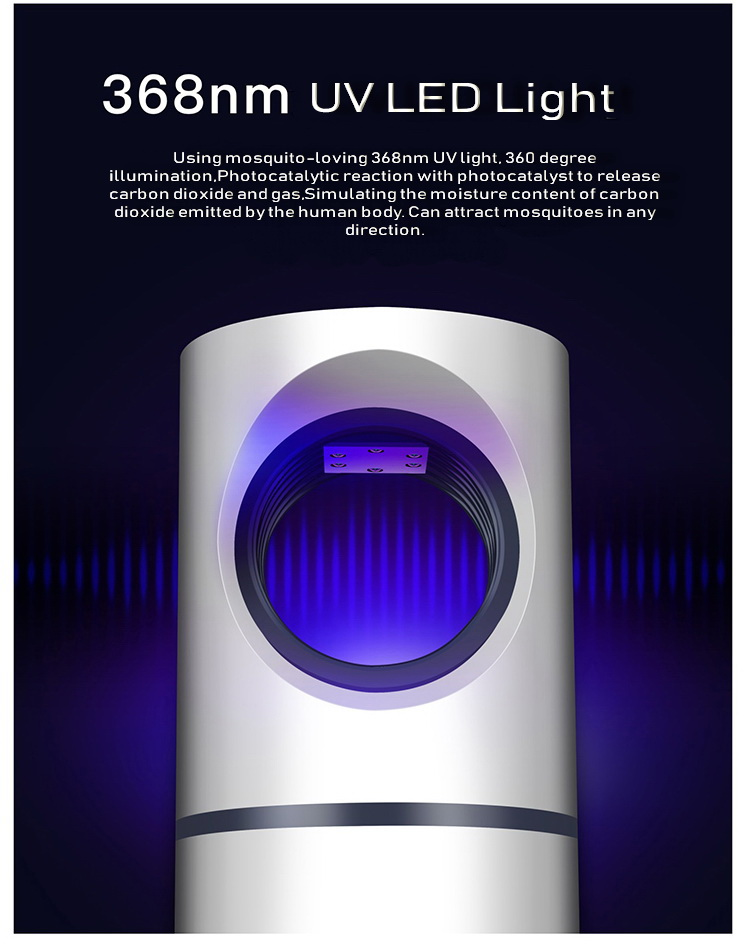 2019 USB Anti moustique tueur lampe piège à LED insecte tueur lampe lumière UV contre moustique mouche piège répulsif contrôle moustiques