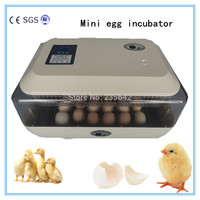 CE approved electricity JN24 holding 24 chicken eggs automatic egg incubator high hatching rate