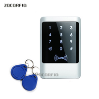 IP68 Waterproof Outdoors Use Metal Stainless steel Reader WG input and output security RF Access Control Keypad