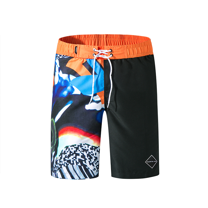 2019 New Hot Mens Beach   Shorts   Homme Bermuda   Short   Surfing   shorts   pants Summer Outdoor Quick Dry   Board     Shorts   Surf   Board     Shorts