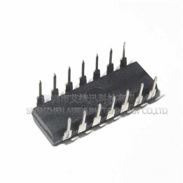 SN74LS74AN tongs DIP14 Type D | 10 pièces, Pos-Edge 2 éléments 14 broches, Tube PDIP, en stock 100%, nouveau et original