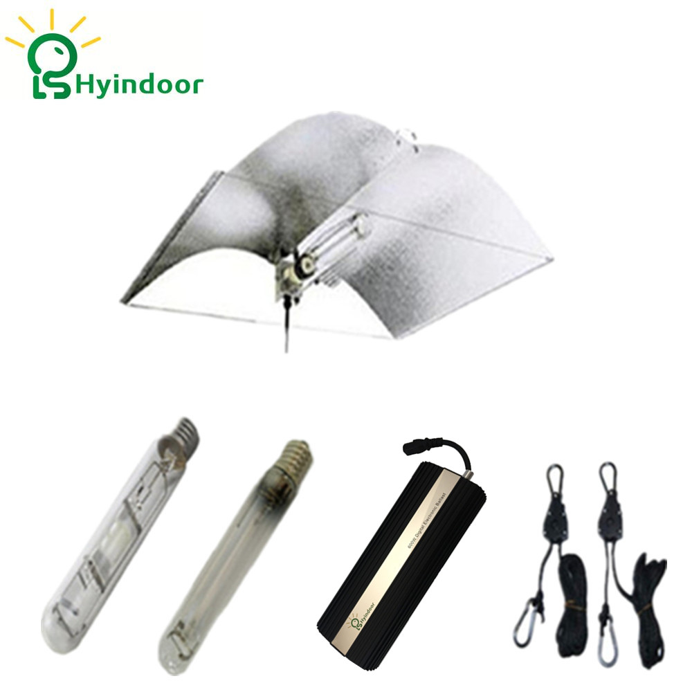 Grow Tent 600W Grow Lights Kits with Adjust-A-wing Lamp Covers Shades Reflector Indoor Growing Tent Professional Lighting       Grow Tent 600W Grow Lights Kits with Adjust-A-wing Lamp Covers Shades Reflector Indoor Growing Tent Professional Lighting