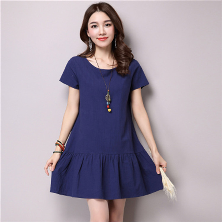 new summer maternity dresses cotton/linen womens dresses pregnancy dresses maternity clothing summer clothing 16426