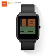 купить Xiaomi AMAZFIT Smartwatch GPS Smart Watch International Bluetooth Wristwatch Heart Rate Monitor Watch Fitness Activity Tracker по цене 5320.77 рублей
