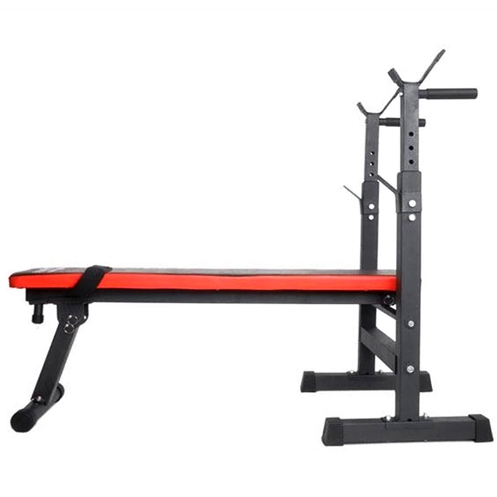 Heavy Duty Gym Shoulder Chest Press Sit Up Weights Bench Barbell Fitness Full Body Workout Exercise Equipment Ship From DE