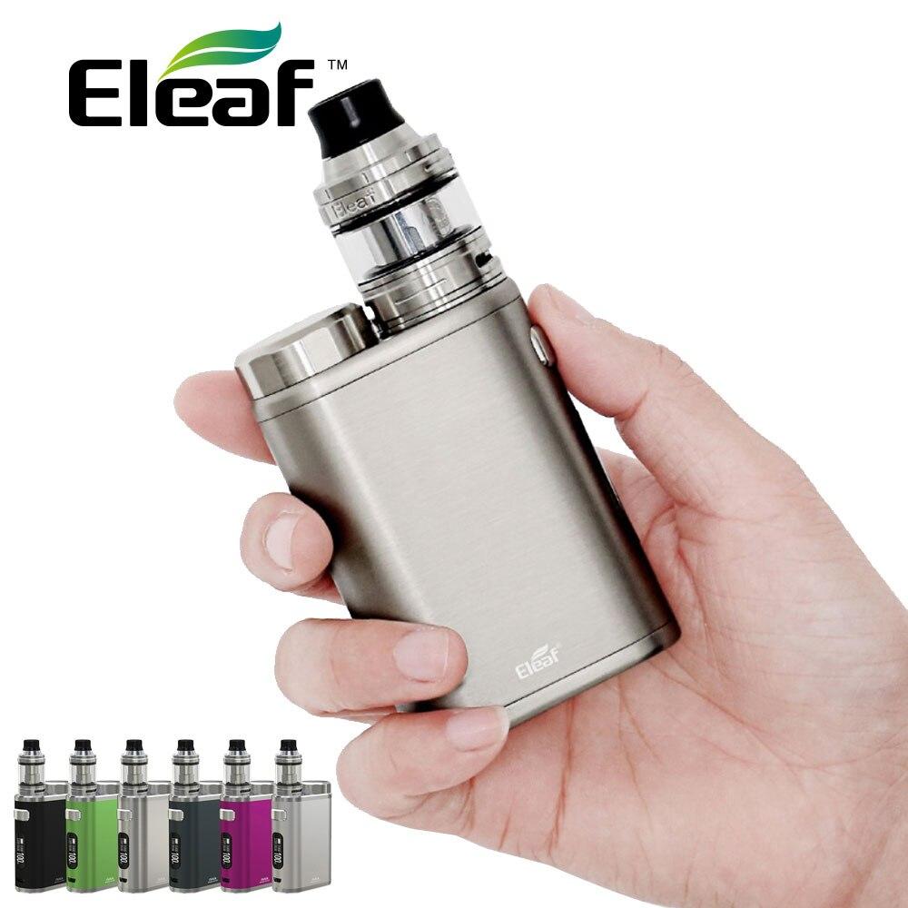 D'origine Eleaf IStick Pico 21700 100 w TC Kit avec Ello Réservoir 2 ml/4 ml & HW1-C Bobine aucun 18650/21700 Cellulaire Ecigarette IStick Pico Kit