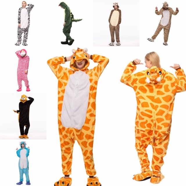 2018 Wholesale Winter unicorn Pajama sets Women pajama kigurumi onesies for adults Animal Pajamas Cartoon Cosplay Home Sleepwear