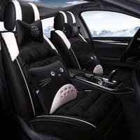 universal car seat cover plush for Jeep Renegade 2017 grand cherokee wrangler jk suzuki swift car accessories interior styling