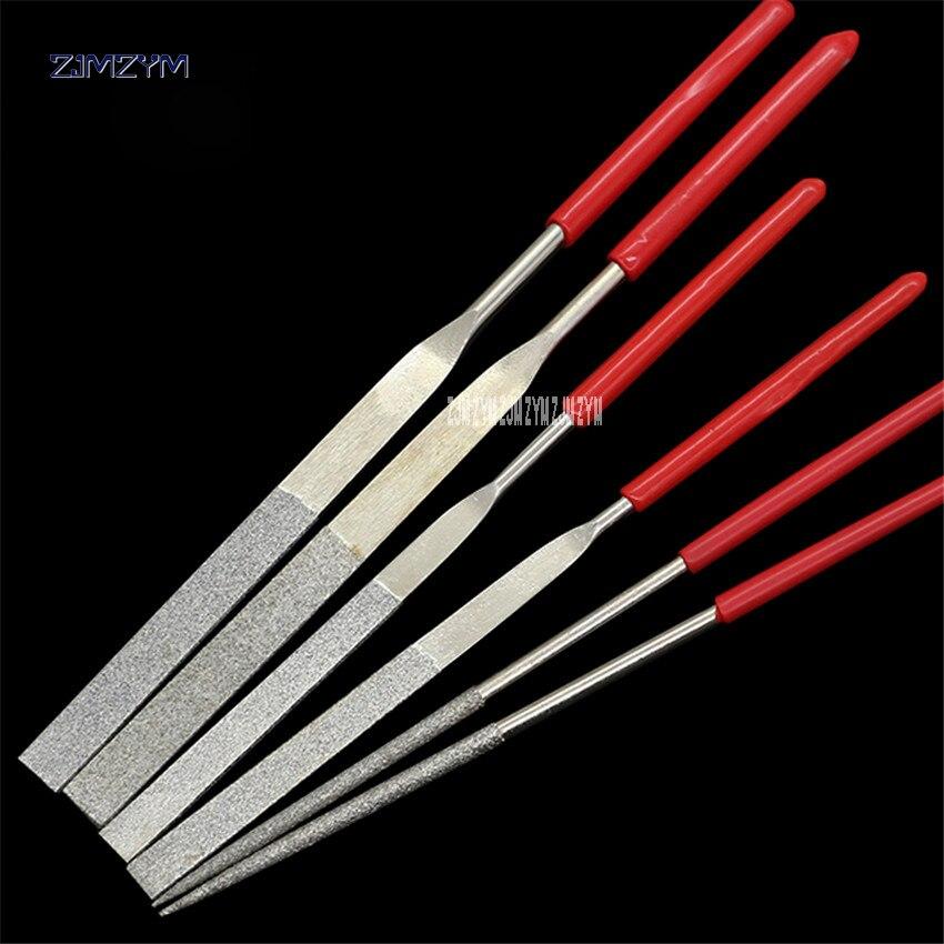 1 StÜck 3*140mm/4*160mm Diamant Mini Nadelfeile Set Handliche Werkzeuge Für Keramik Glas Edelstein Hobby Und Handwerk SchüTtelfrost Und Schmerzen