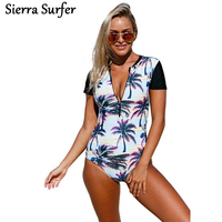 One Piece Swimsuit Plavky Girls Plus Size Swimwear Large Swimsuits 2018 Before 2018 New Zipper Printing