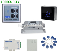 LPSECURITY Lettore a Tastiera Entry Door Lock System Access Control Security kit con PVC carta 125 KHZ