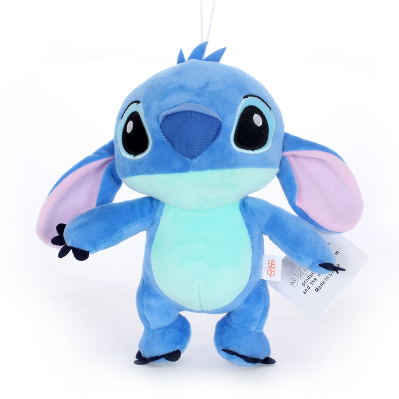 1pcs 23cm Kawaii Anime Stitch Plush Doll Toys Blue Stitch Soft Stuffed Toys Doll Gifts For Children Kids