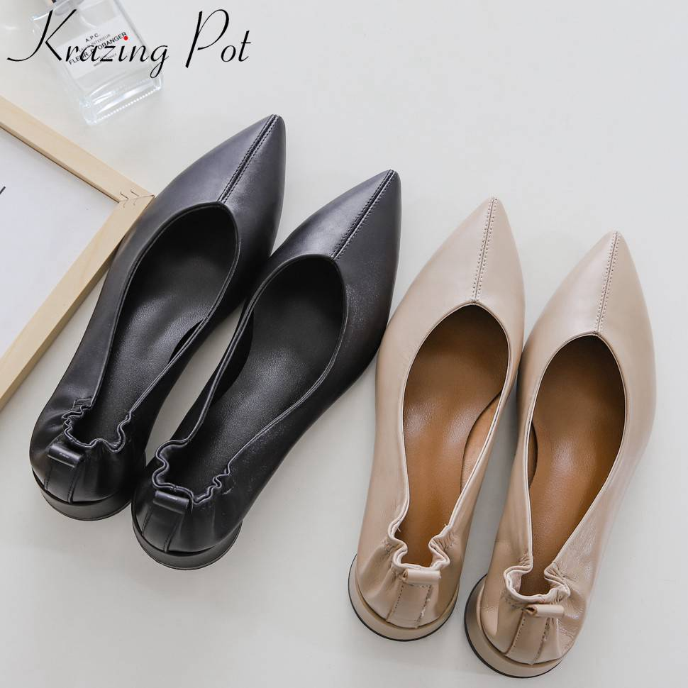 Mary Janes round low heels oxford pointed toe large size grandma shoes Hollywood movie stars natura leather elegant pumps L85Mary Janes round low heels oxford pointed toe large size grandma shoes Hollywood movie stars natura leather elegant pumps L85