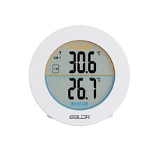 On sale Table Wireless Thermometer LCD Display Indoor Outdoor Sensor Temperature Sensor R09 Drop ship