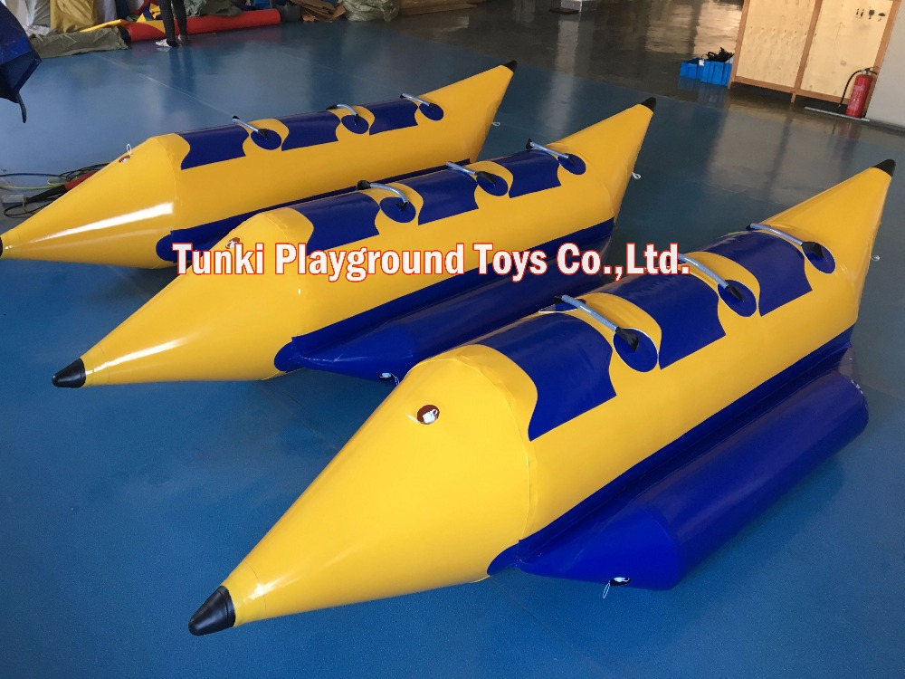 3 seats strong inflatable banana boat
