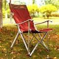 خفيفة للغاية كبيرة الحجم سبائك الألومنيوم كرسي قابلة للطي للجلوس في الهواء الطلق الصيد كرسي الترفيه مقعد محمول المنزلية لديها 2colors
