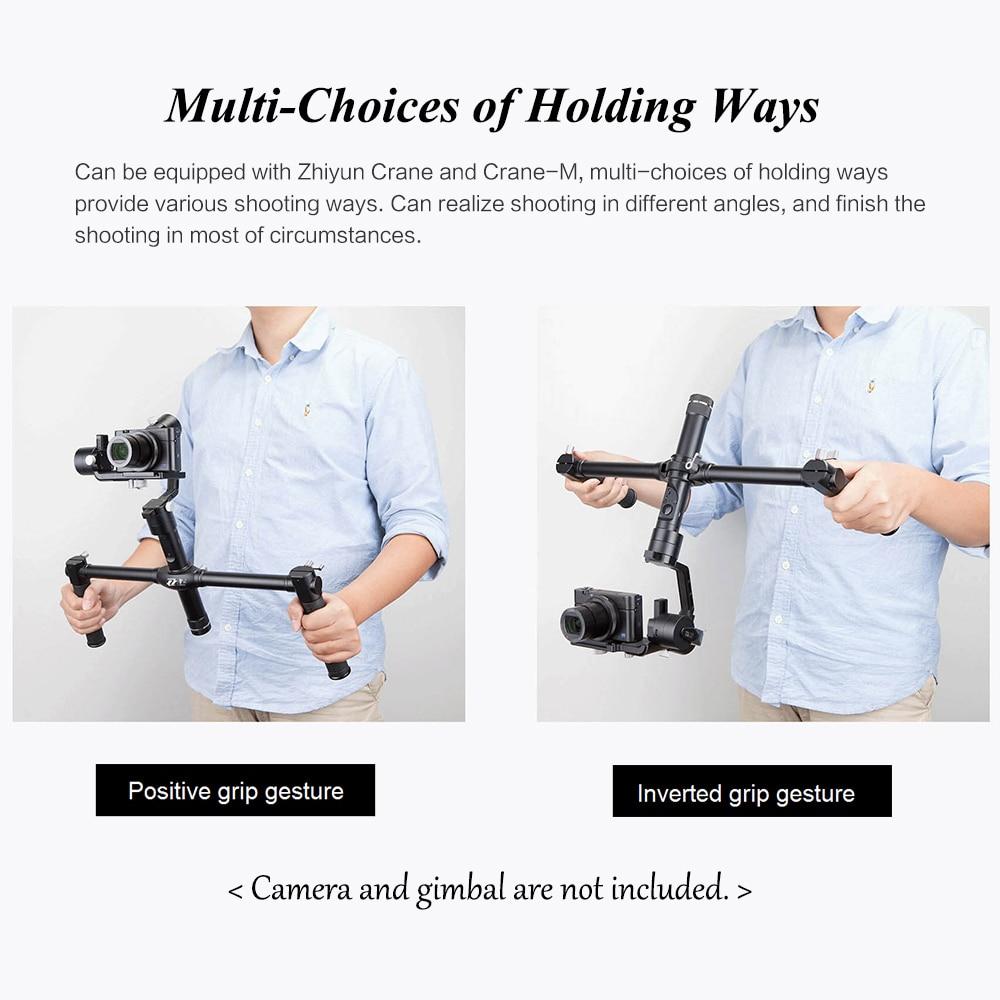 ZHIYUN Official Dual Handheld Extended Handle for Zhiyun Crane Plus Crane V2 Crane M Gimbal Stabilizer 3