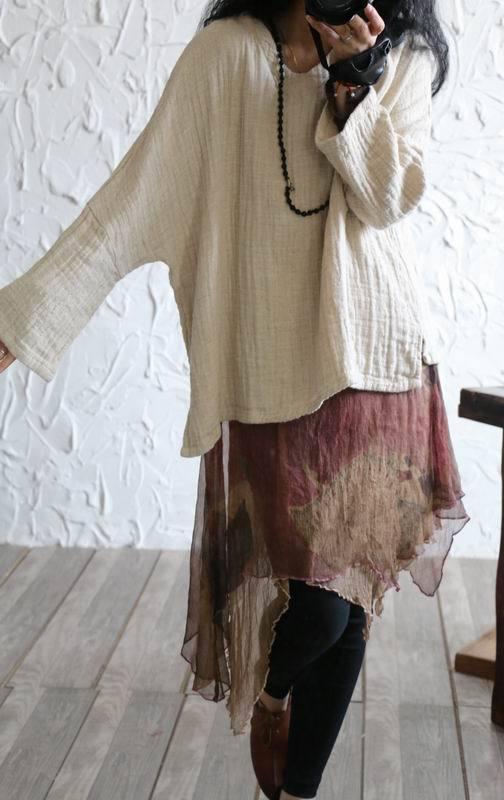 YoYiKamomo 2020 women shirt cotton linen original long sleeve casual joker solid color linen shirt loose big size women shirt