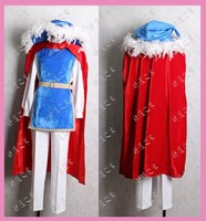 2016 Cartoon Movie Snow White Prince Charming cosplay costume For Men Party Holiday Costumes